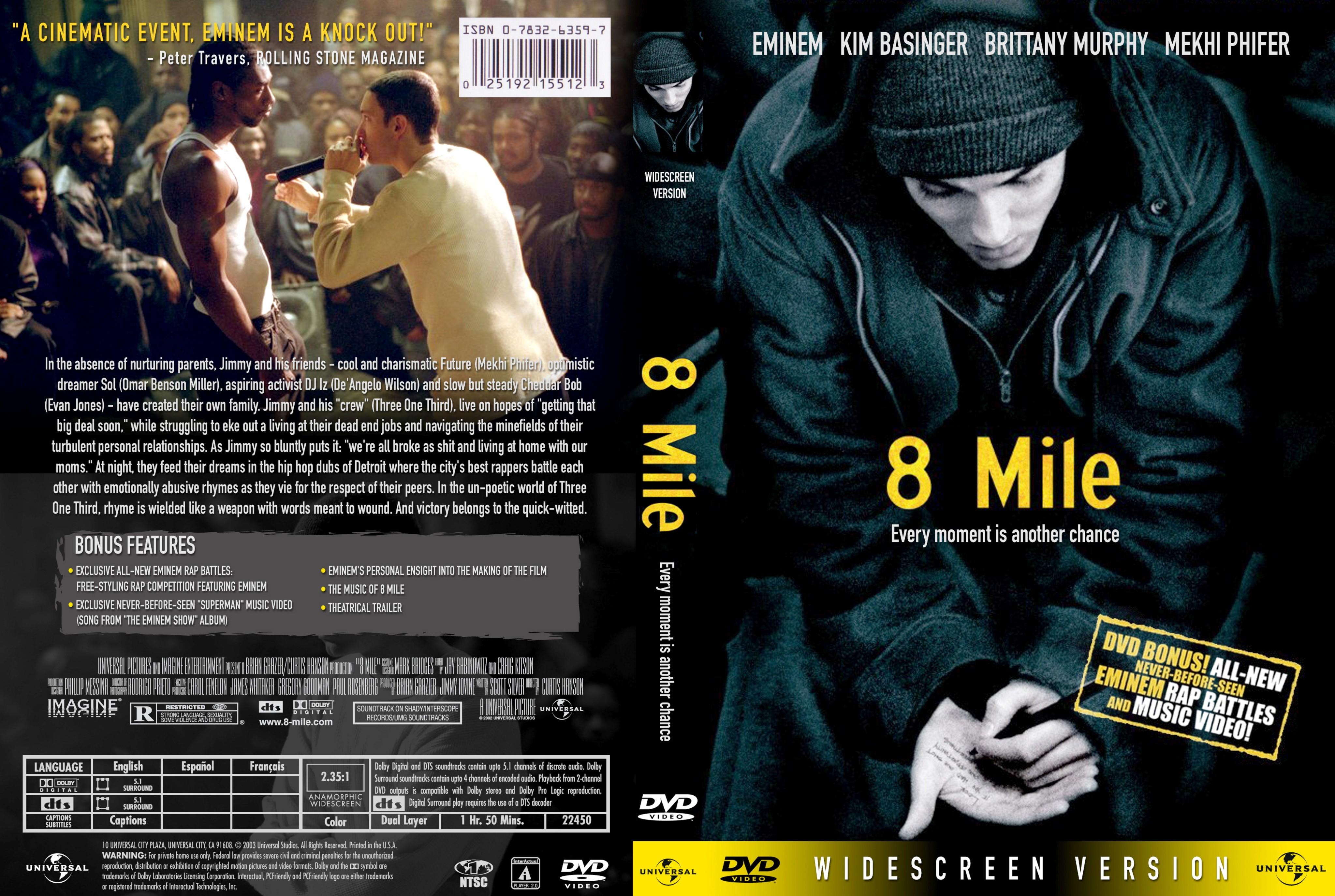 8 Mile Music Movies If Endif Movie Tensofyears
